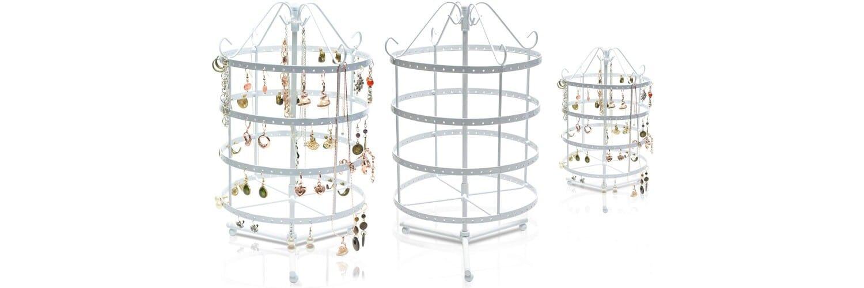 porte bijoux rotatif à bijoux