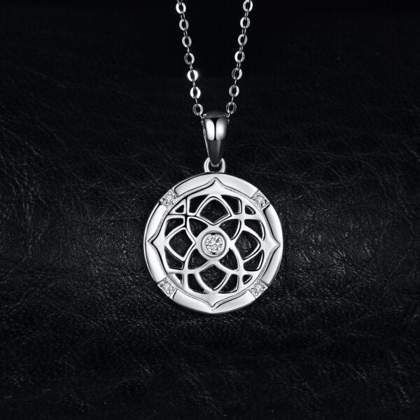 beau pendentif celte en argent