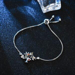bracelet arbre de vie chaîne vénitienne