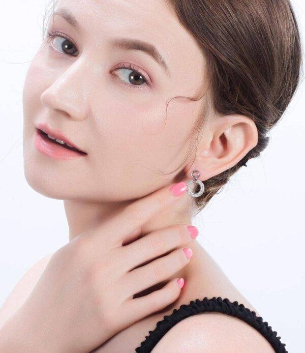 Boucles d'oreilles chic au style élégant