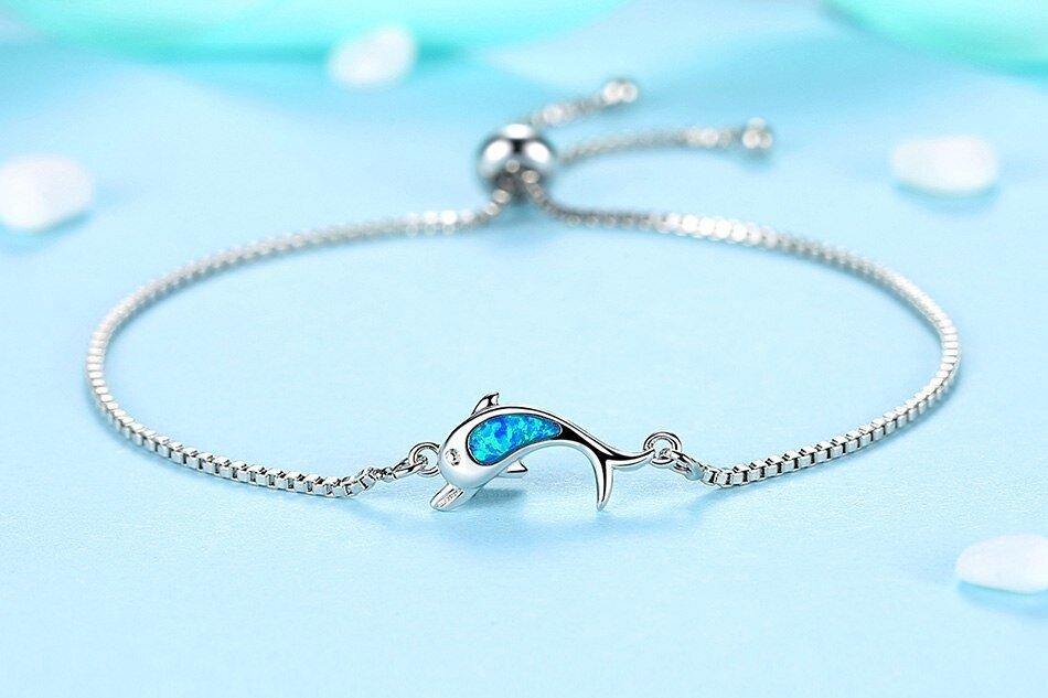 bracelet dauphin mignon